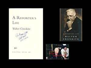 A Reporter's Life ***SIGNED***: Cronkite, Walter