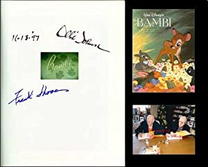 Walt Disney's BAMBI: The Story And The: Thomas, Frank &