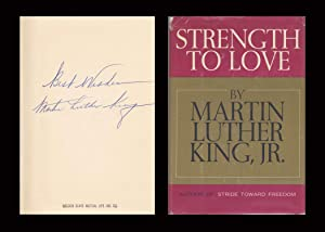 Strength To Love ***Signed***: King, Martin Luther,