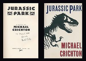 Jurassic Park ***Signed***: Crichton, MIchael