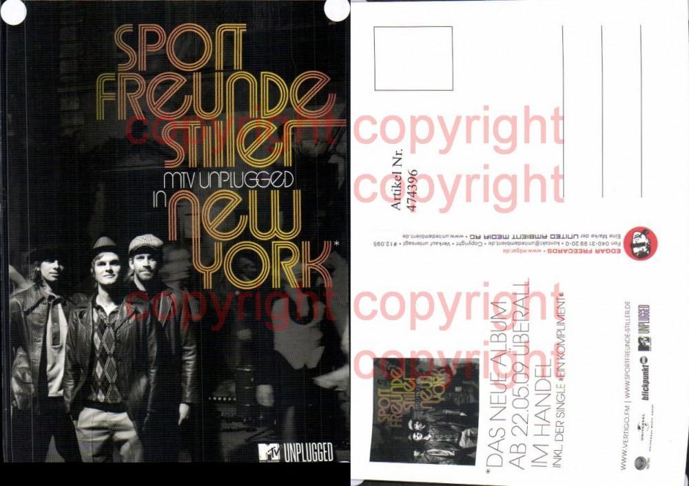 474396,Musiker Band Sportfreunde Stiller MTV Unplugged in New York