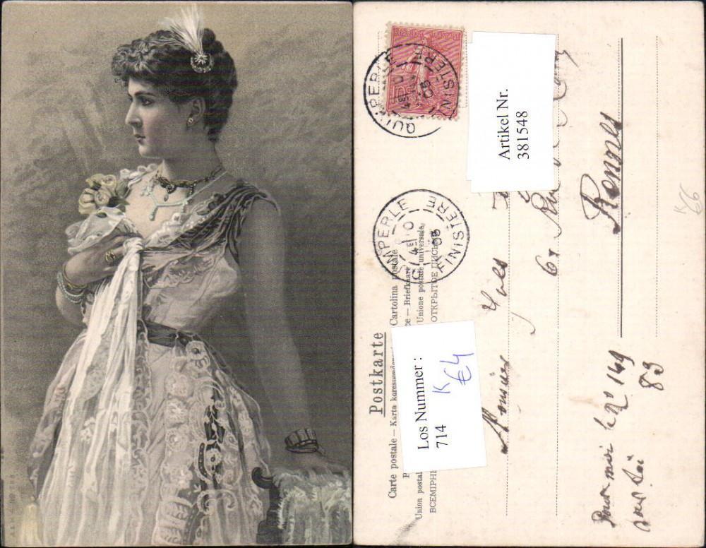 381548frau M Kleid Mode Schmuck Art Deco Versandhandel Lehenbauer