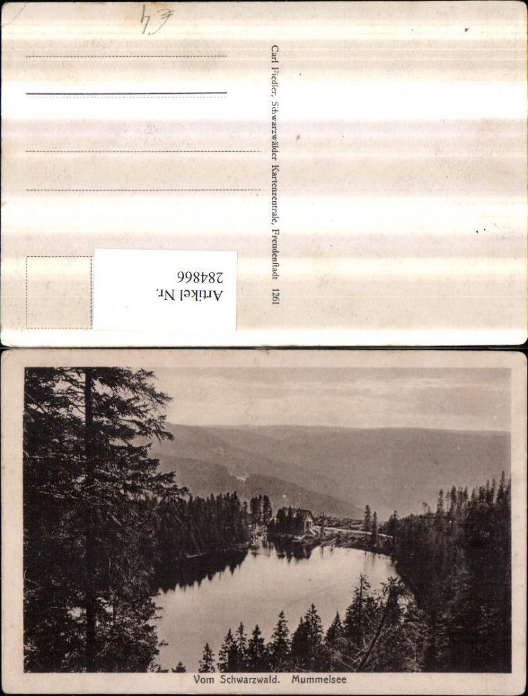 284866,Schwarzwald Mummelsee See