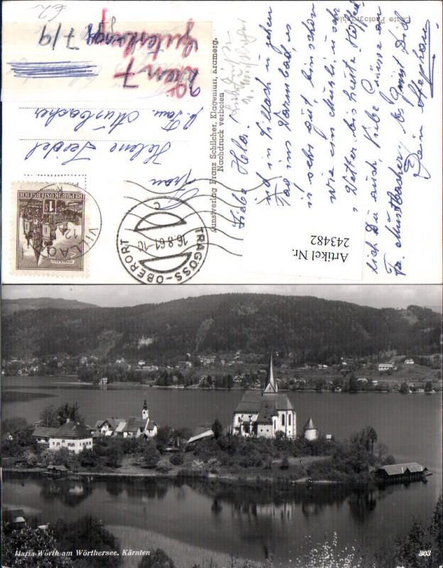 243482,Maria Wörth am Wörthersee Totale pub Franz Schilcher 303