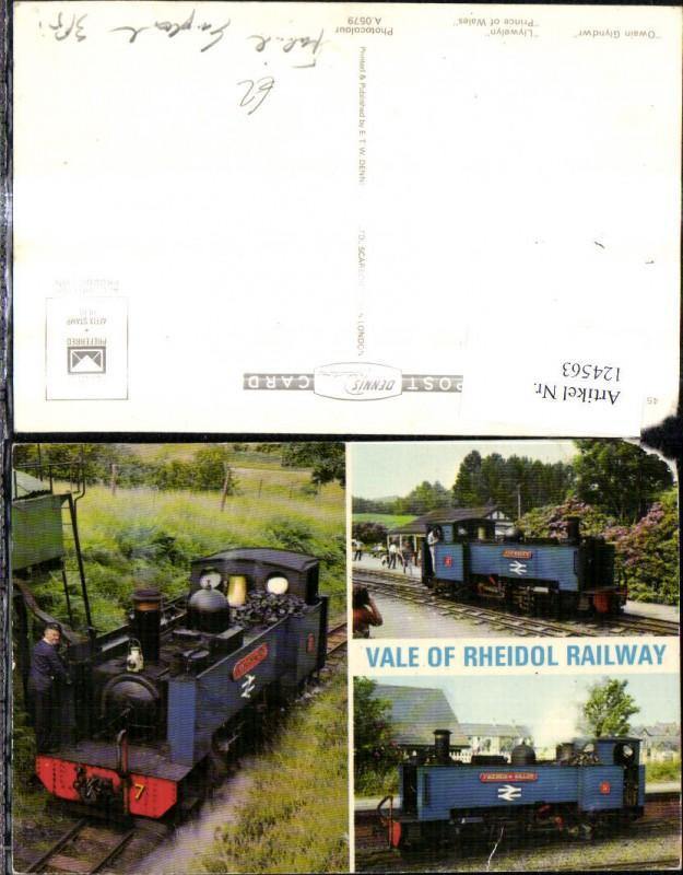 124563,Mehrbild Ak Vale of Rheidol Railway Dampflok Owain Glyndwr Llywelyn Prince of Wales