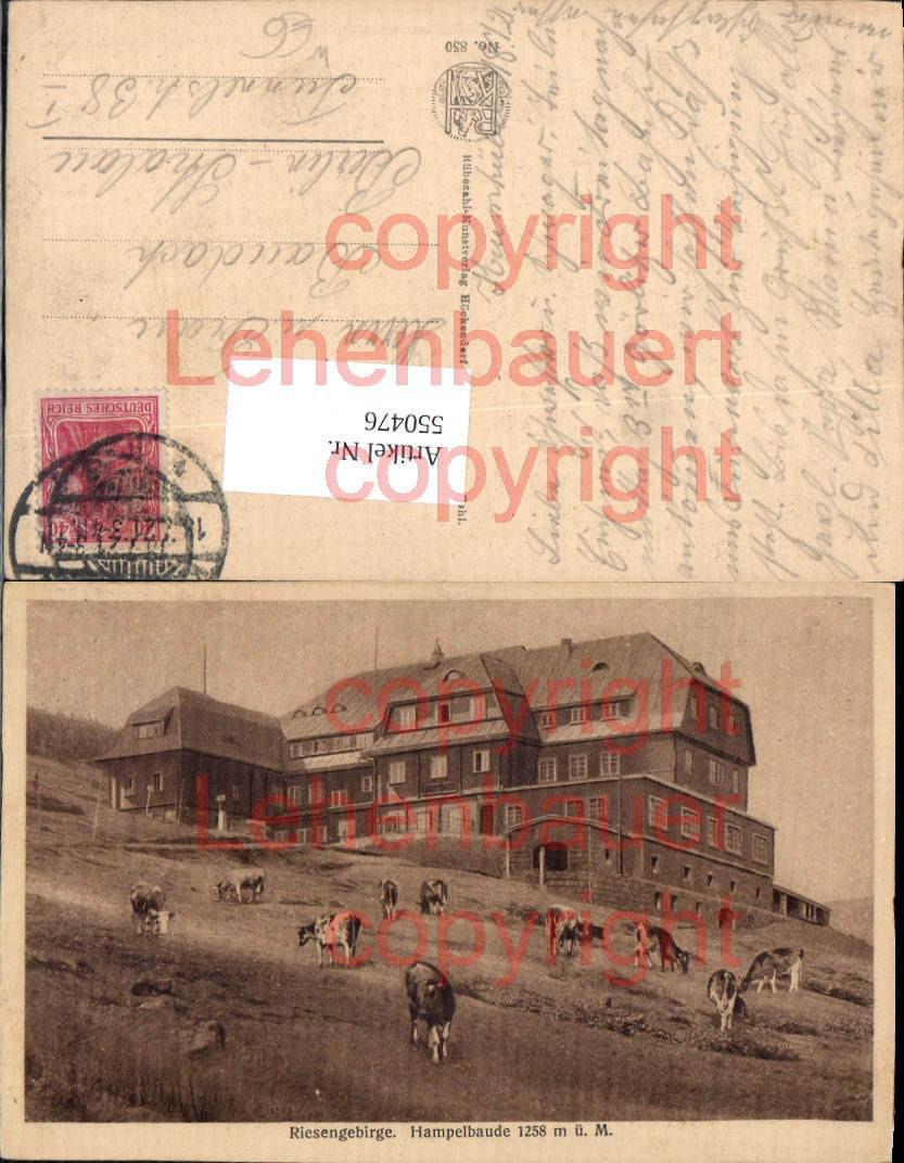 550476,Poland Schlesien Hampelbaude Riesengebirge Hirschberg