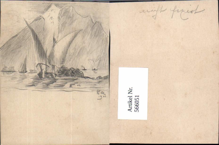 Segelschiff bleistiftzeichnung  die bleistiftzeichnung - ZVAB