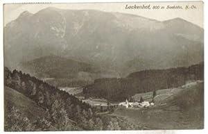1918,Lackenhof bei Gaming Kienberg Ötscher 1930