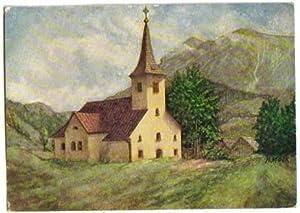 1922,Lackenhof bei Gaming Kienberg -KÜNSTLERKARTE MOCK