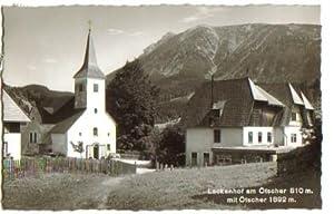 1921,Lackenhof bei Gaming Kienberg Ötscher 1960 DETAIL