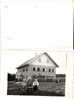 1910s CUTE AUSTRIAN KIDS in GARDEN CUTE