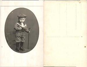 LOVELY LITTLE BOY SAILOR SUITE CAP Photo