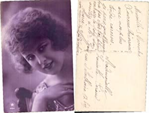 NICE EROTIC FRENCH LADY RISQUE Photo Postcard