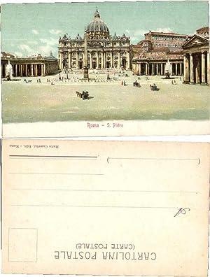 39243,Roma Rom San Pietro 1900