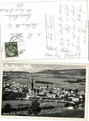 44651,Kaplitz Kaplice Ortsansicht 1940