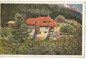 Künstlerkarte Eichholzhof Kolbnitz Mölltal Reißeck