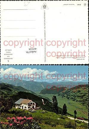 415126,Alpengasthaus Kaltenbacher Schihütte b. Kaltenbach Bergkulisse