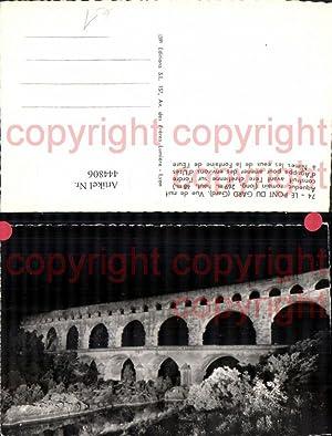 444806,Le Pont du Gard Aqueduc romain Brücke