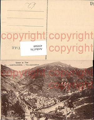 459569,Languedoc-Roussillon Lozere Gorges du Tarn Sainte-Enimie Vue