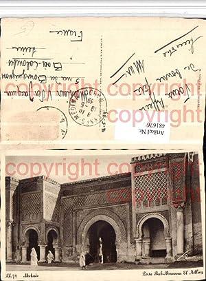 481676,Morocco Meknes Porte Bab-Mansour El Alluy Portal