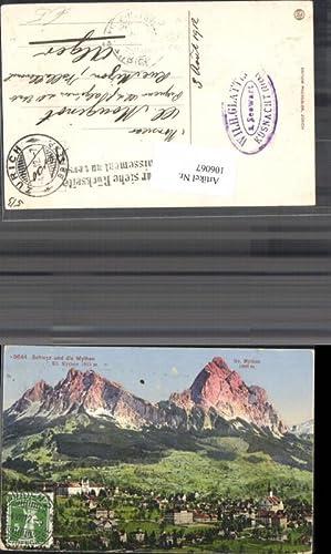 106067,Schwyz u. d. Mythen Ansicht 1912 Kanton