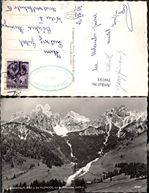 394183,Oberhofalm b. Filzmoos m. Bischofsmütze Bergkulisse