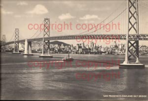 411490,Jumbo Post Card 20x25 San Francisco-Oakland Bay