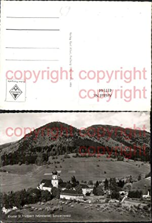 Ansichtskarten Trudpert 73001045 St Trudpert Kloster St