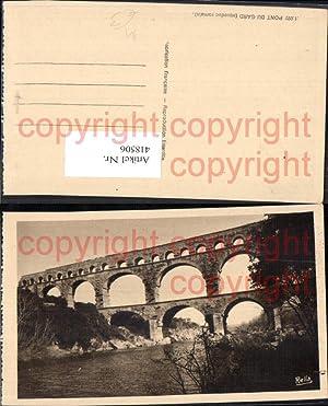 418506,Pont du Gard Vers-Pont-du-Gard Brücke Viadukt