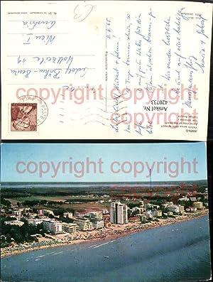 420733,Veneto Venezia Jesolo Veduta aerea della spiaggia