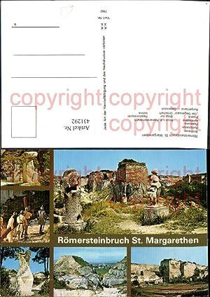 431292,Römersteinbruch St Margarethen Bildhauer Symposion Archäologie Ausgrabungen