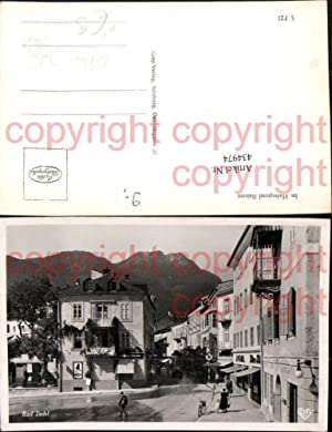 434974,Bad Ischl Straßenansicht Reklame Julius Meinl pub