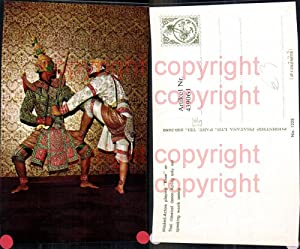439061,Masket Actors playing Khon or Thai classical