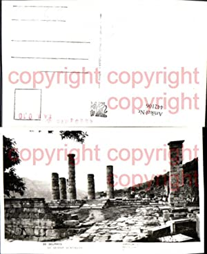 442106,Greece Delphes Delphi Le Temple d'Apollon Tempel