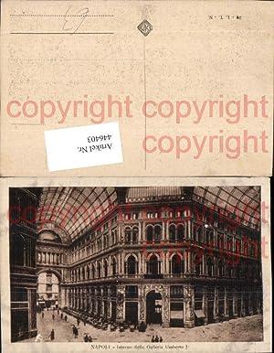 446403,Campania Napoli Neapel Interno della Galleria Umberto