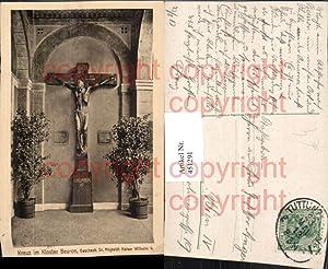 451291,Beuron Kloster Kreuz Kruzifix