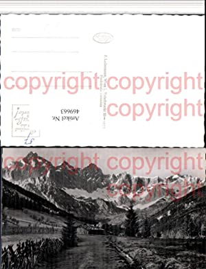 469663,Hachau b. Filzmoos geg. Dachstein Bergkulisse