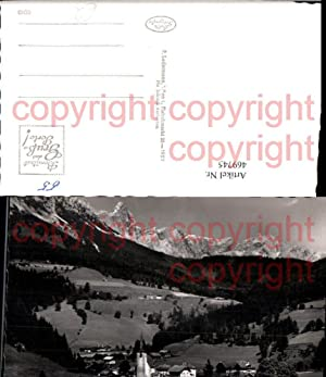 469745,Filzmoos im Pongau Totale geg. Dachstein Bergkulisse