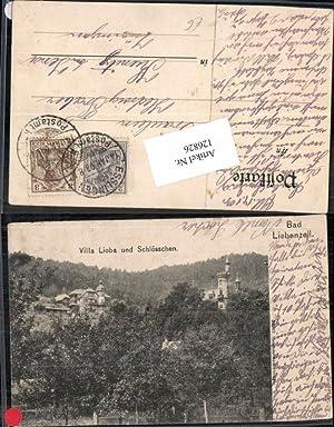 126826,Bad Liebenzell Villa Lioba und Schlösschen 1902