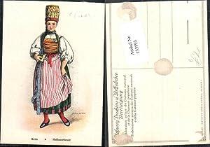 133593,Jean Kern Hallauerbraut Tracht Brautkleid Mode Schweiz