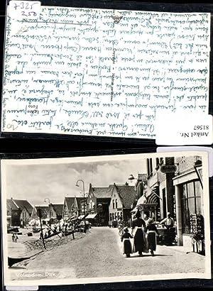 81567,Volendam Dijk Straßenpartie Fotograaf Kodak