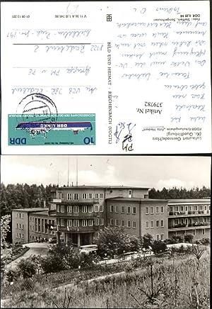 379782,Gernrode im Harz FDGB-Erholungsheim Fritz Heckert