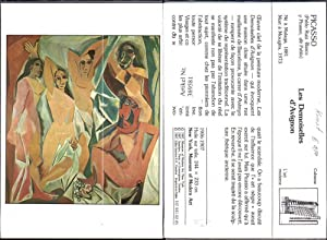 389581,Repro Künstler Ak Pablo Picasso Les Demoiselles