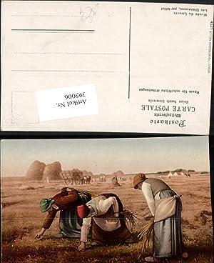 395006,Künstler AK Jean Francois Millet Les Glaneuses