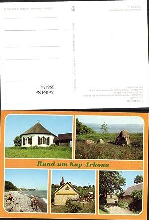 396434,Rügen Kap Arkona Vitt Kapelle Küste Mehrbildkarte