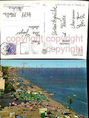 420708,Veneto Venezia Lido di Jesolo La spiaggia