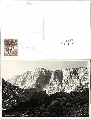 92757,Hochschwab b. Aflenz Thörl