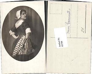 93799,Holländische Tracht Frau Holland Mode