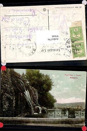 97646,Budapest Margarethen Insel Wasserfall