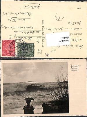 110403,Dubrovnik Ragusa Kupari Brandung 1930